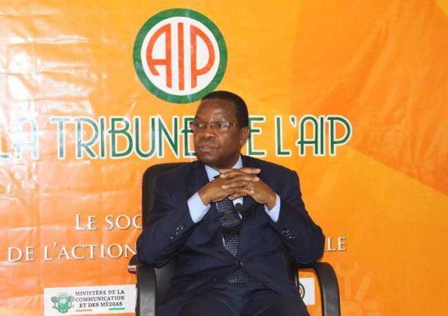 M. Joseph Séka Séka, ministre de l'Environnement et du Développement durable de Côte d'Ivoire