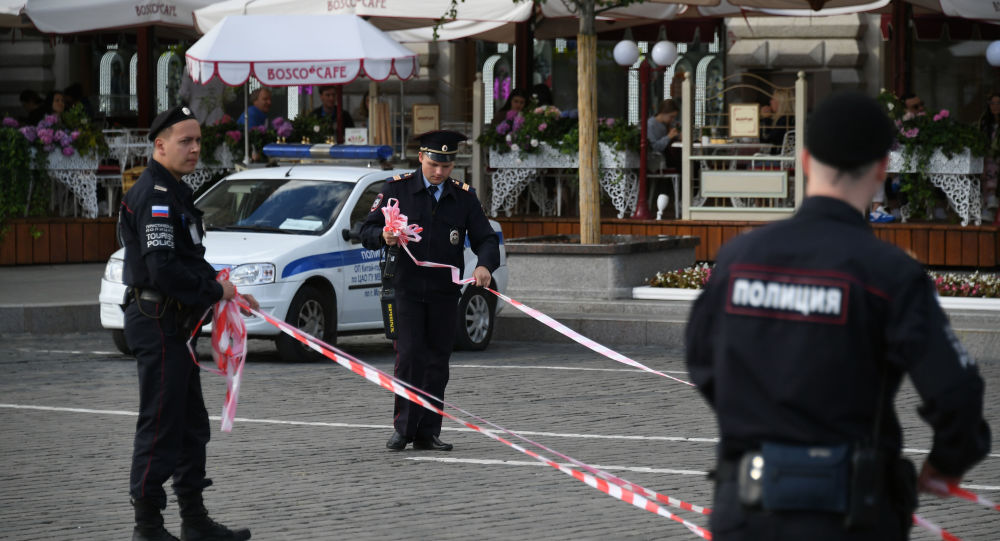 La police russe