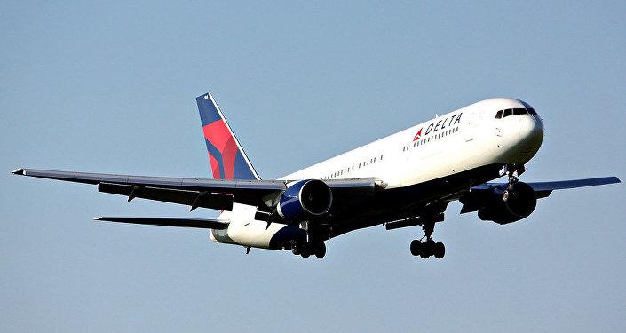 Un avión de Delta Airlines