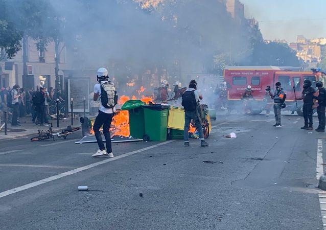 La journée de manifestations du 21 septembre à Paris
