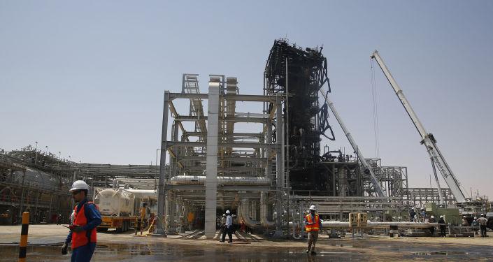 Des installations petrolières