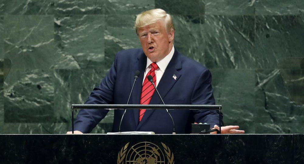 Donald Trump à l'Assemblée générale de l'Onu