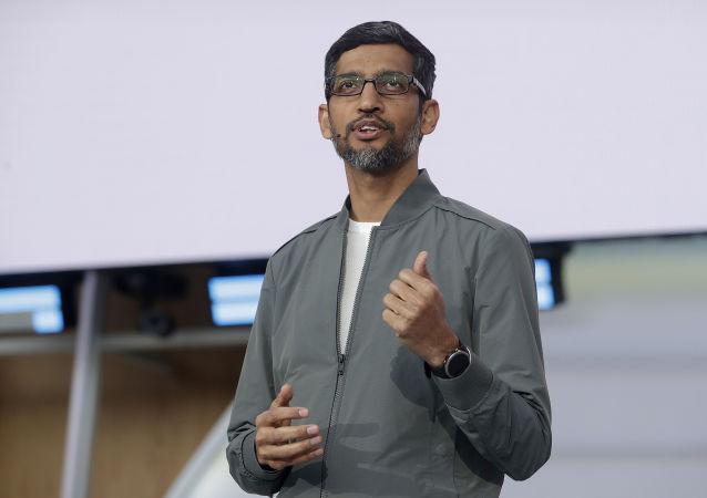 PDG de Google Sundar Pichai