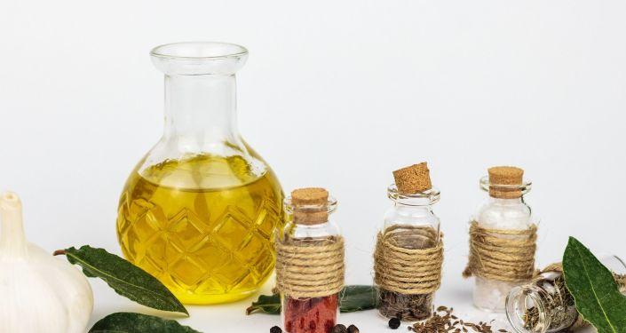Une huile végétale (image d'illustration)
