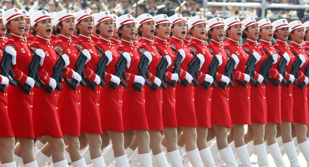 Défilé consacré au 70e anniversaire de la République populaire de Chine à Pékin