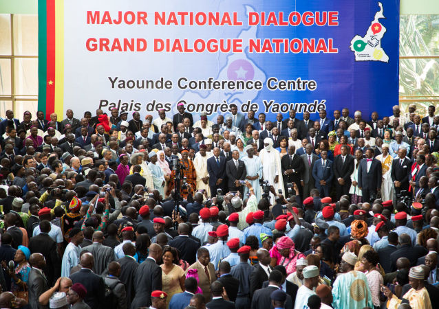 Grand dialogue national au Cameroun