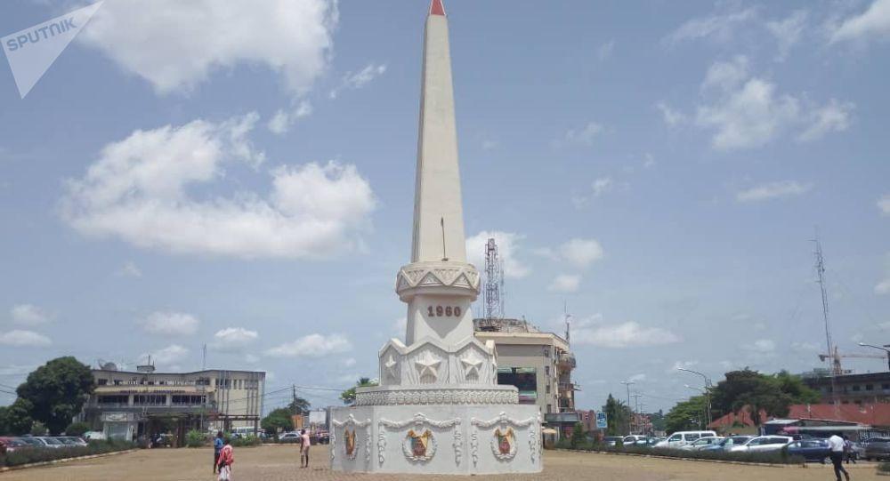 Place de l'Indépendance, Yaoundé, Cameroun