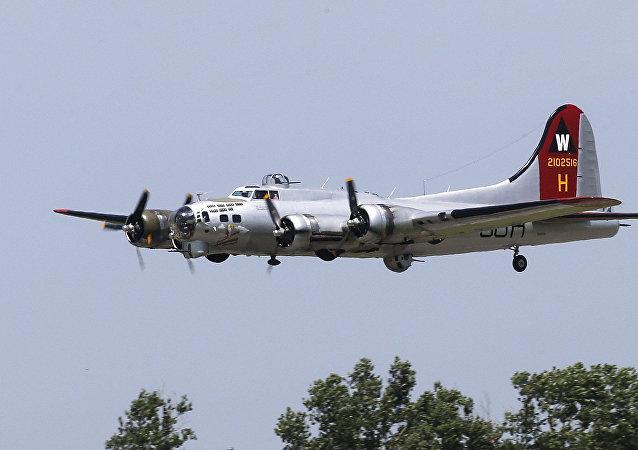 Un Boeing B-17 de la Seconde guerre mondiale (photo d'archives)