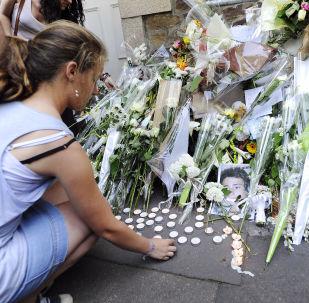 Les images de funérailles de la famille de Xavier Dupont