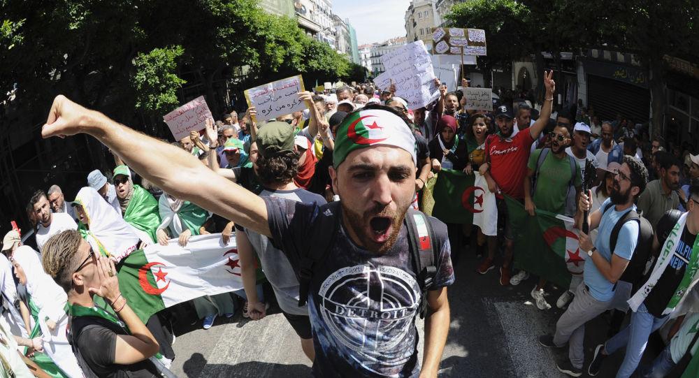 Manifestants du Hirak, Algérie