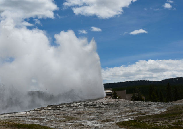 Supervolcan de Yellowstone