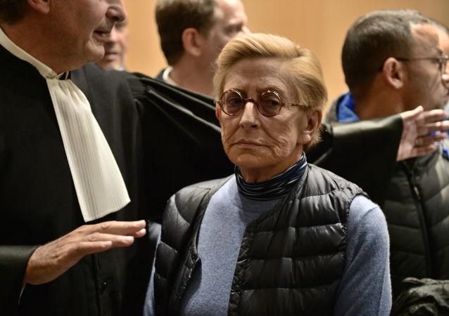 Isabelle Balkany au tribunal correctionnel de Paris, le 18 octobre 2019