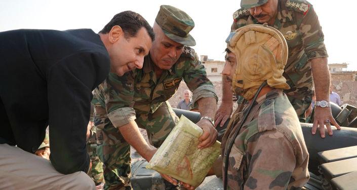 Bachar el-Assad à Idlib