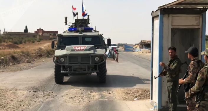Police militaire russe en Syrie
