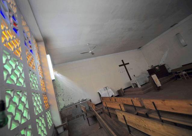Une église protestante à Alger