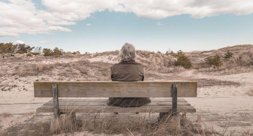 Femme âgée (image d'illustration)