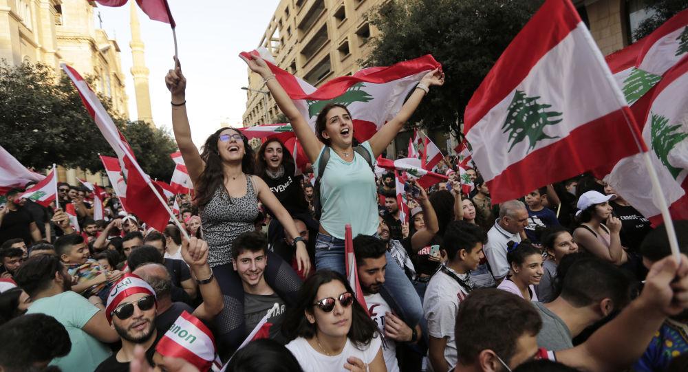 Des manifestations antigouvernementales à Beyrouth