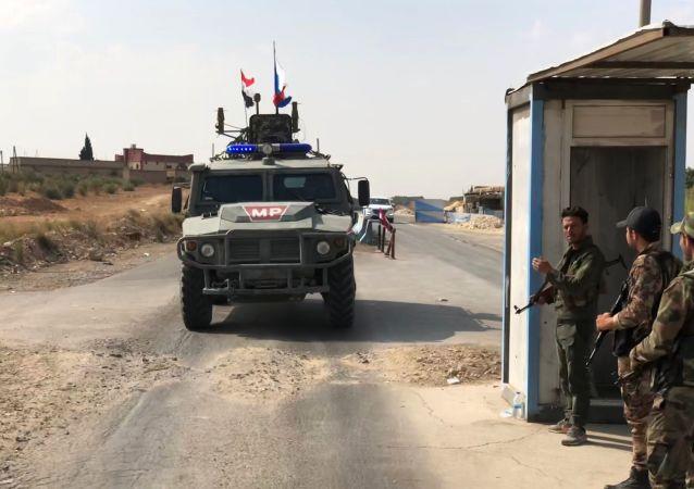 La police militaire russe en Syrie (archives)