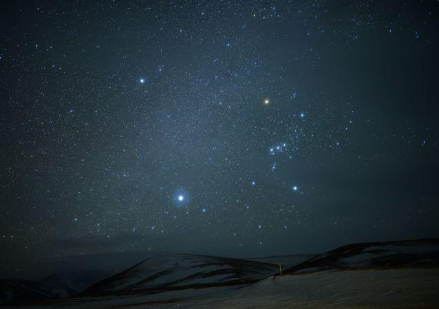 Ciel étoilé (image d'illustration)