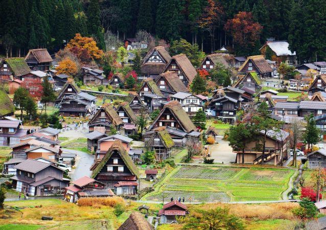 Shirakawa-go, image d'illustration