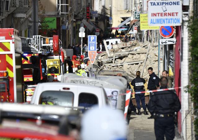 Effondrement d'immeubles à Marseille