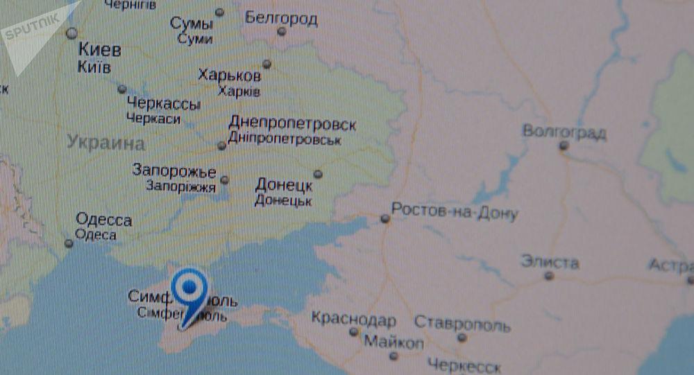 La Biélorussie, l'Ukraine et la Russie sur une carte en ligne (image d'illustration)