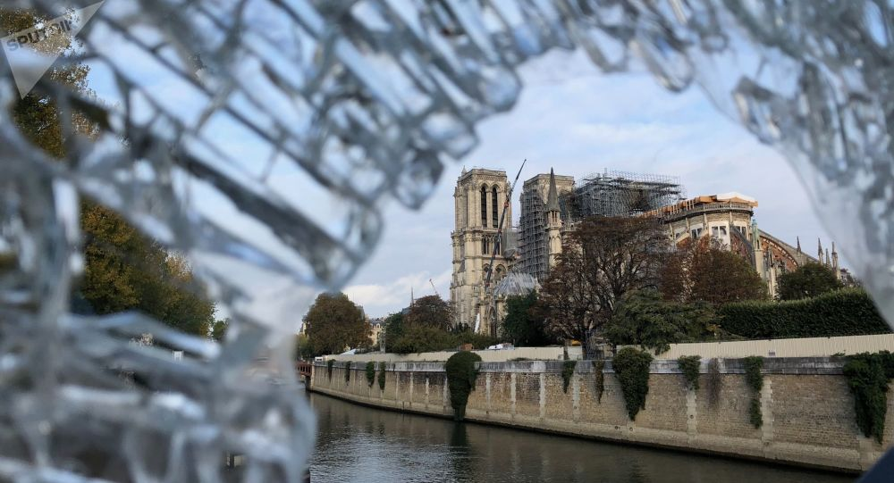 Notre-Dame de Paris en cours de restauration