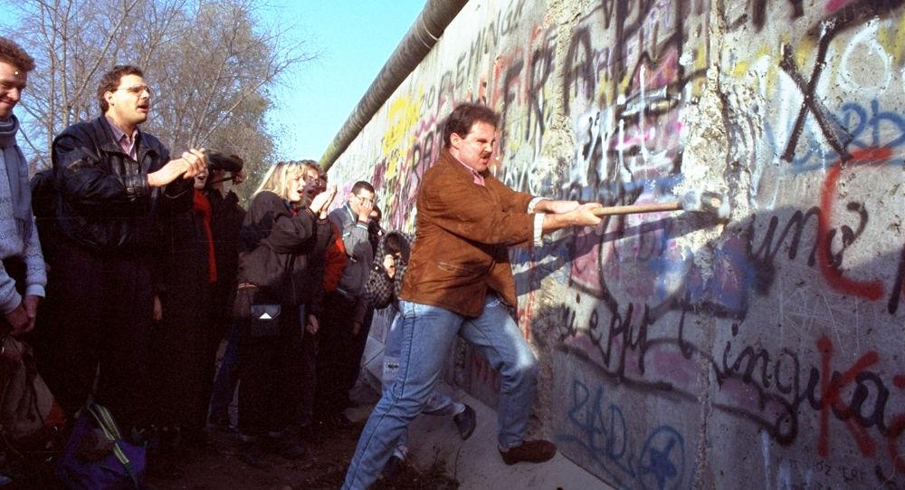 Mur de Berlin, novembre 1989
