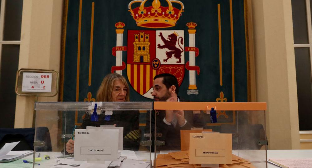 Législatives en Espagne, 10 novembre 2019