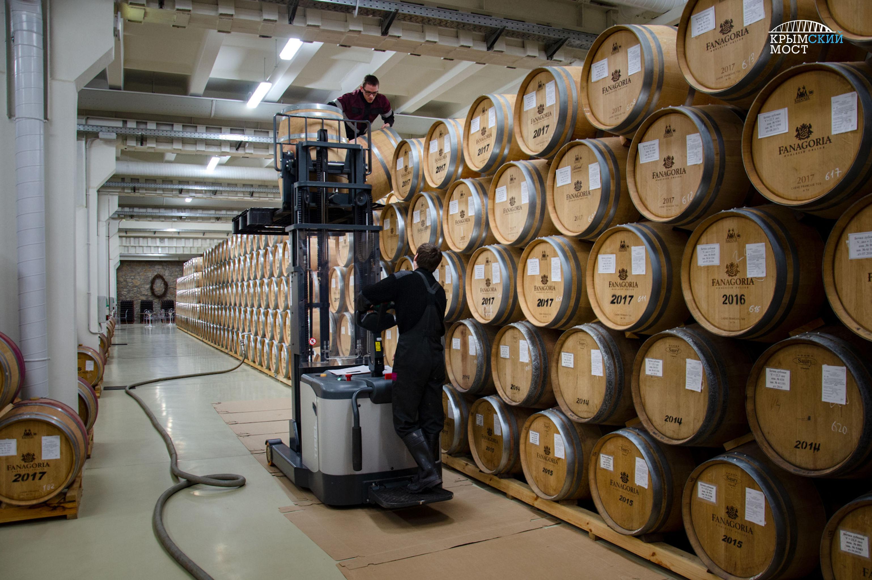 Les vins de l'usine Fanagoria