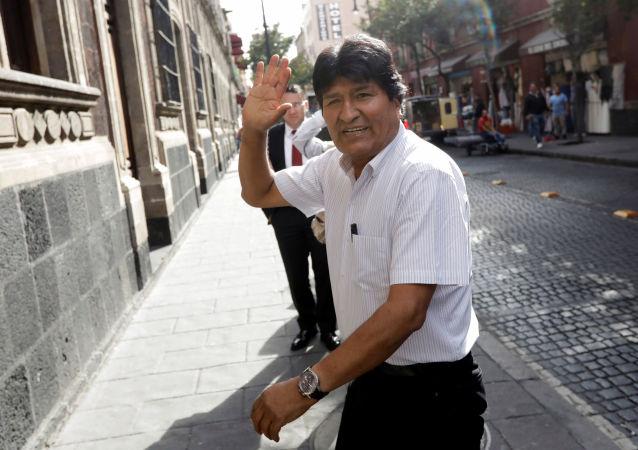 Evo Morales au Mexique