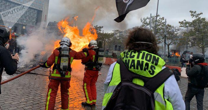 Acte 53 des Gilets Jaunes, Paris 16 novembre (image d'illustration)