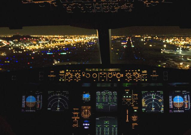 Cockpit d'un ARJ21-900