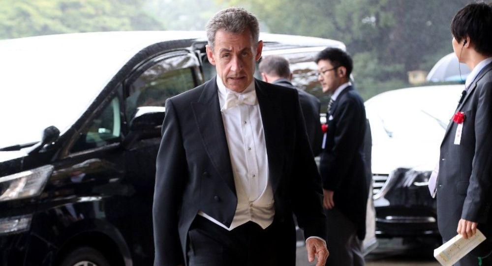 Nicolas Sarkozy à Tokyo