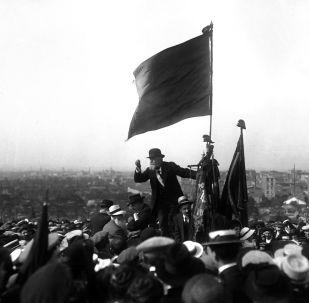 Discours de Jean Jaurès au Pré-Saint-Gervais, 1913
