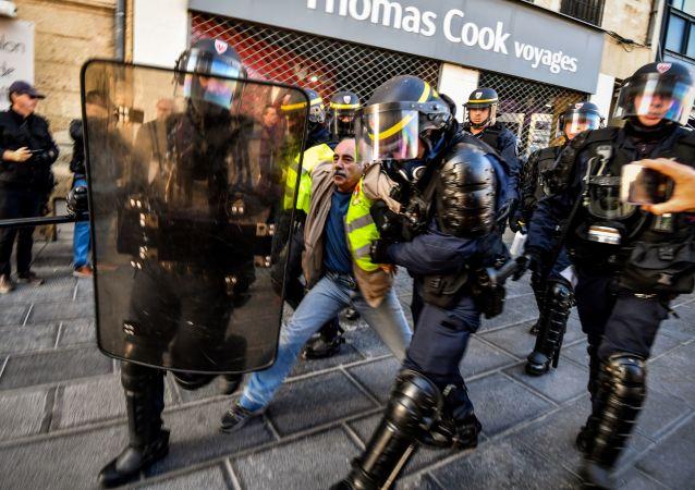 Acte 52 des Gilets jaunes à Montpellier, le 9 novembre