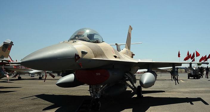 Un F-16 des Forces armées royales marocaines