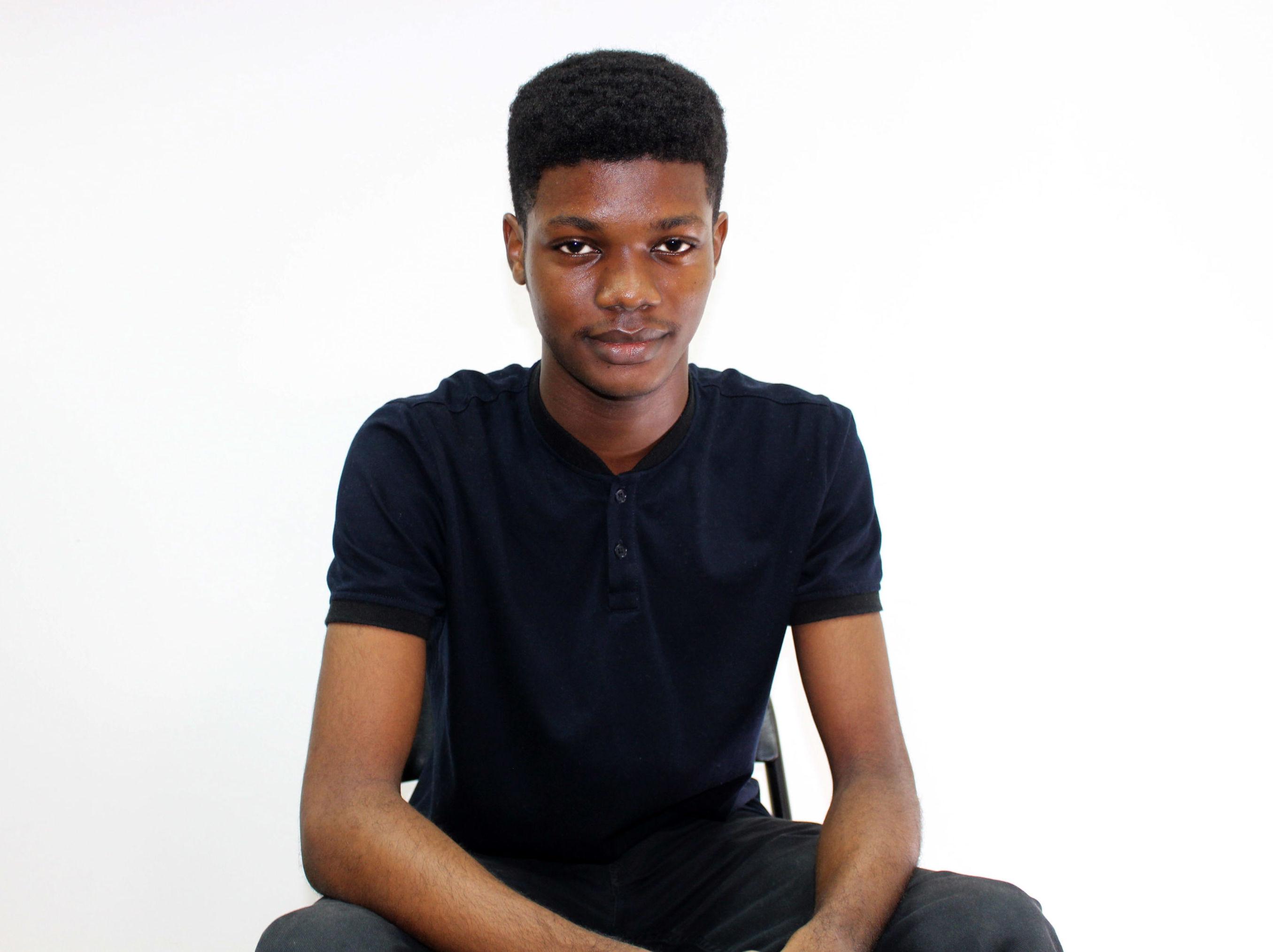 O'Plérou Grebet, graphiste ivoirien de 22 ans, créateurs des zouzoukwa, des émojis 100% africains