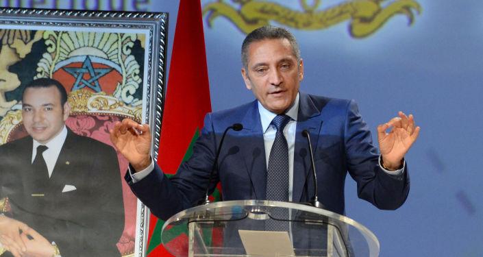 Moulay Hafid Elalamy, minsitre marocain de l'Industrie, du Commerce et de l'économie Numérique