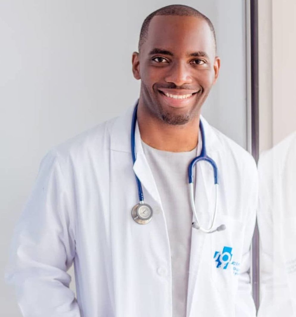 Claudel Noubissie, le médecin.