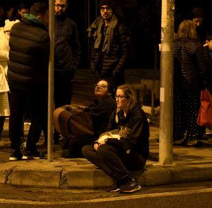 Violent séisme en Albanie, Tirana