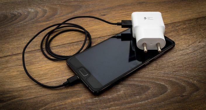 Chargeur de téléphone, image d'illustration