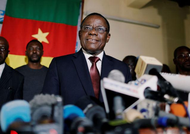 Maurice Kamto annonce au cours d'une conférence au siège de son parti à Yaoundé le 25 novembre 2019 qu'il ne participera pas aux élections locales de 2020.