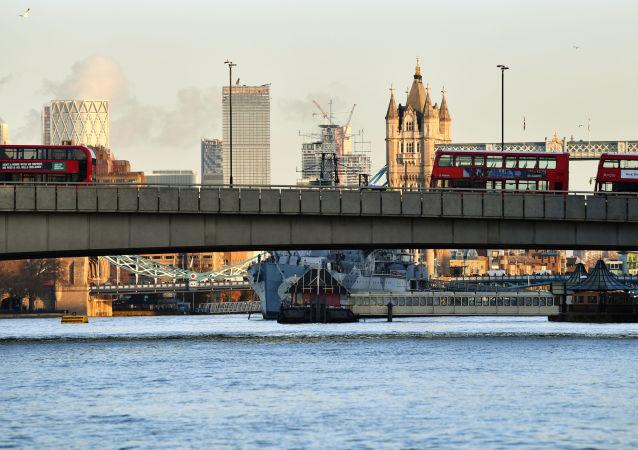 Le pont de Londres après une attaque au couteau, le 29 novembre 2019
