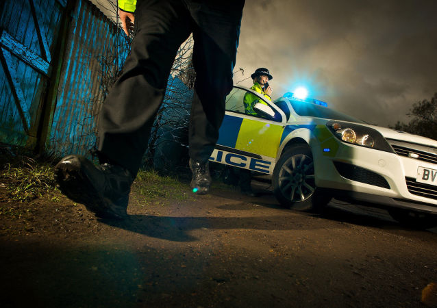 La police britannique