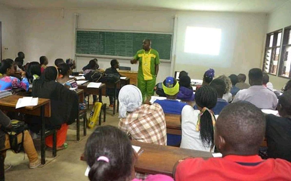 Thierry Nyamen, l'enseignant.