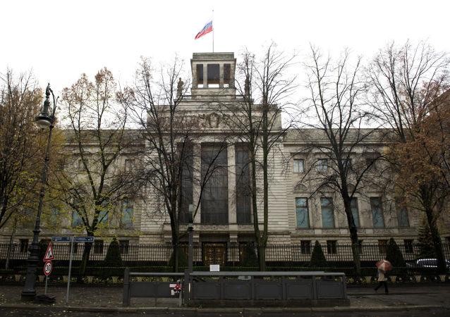L'ambassade russe à Berlin