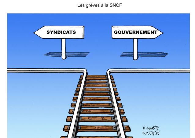 Les grèves à la SNCF
