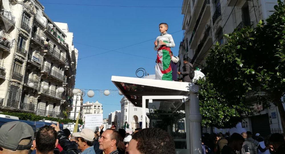 Manifestation à Alger, le 6 décembre 2019