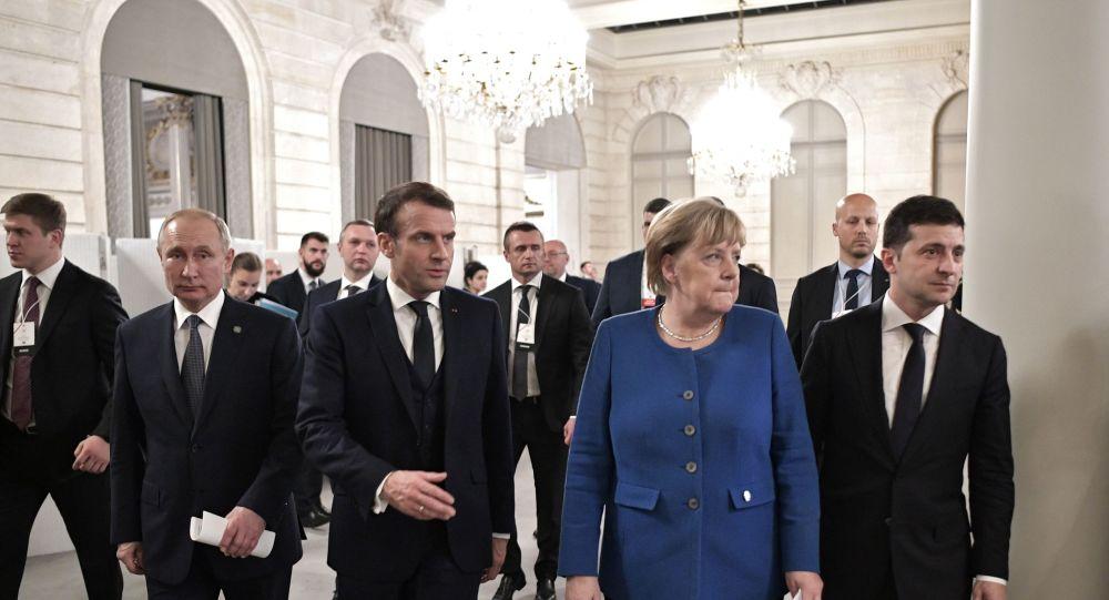 Sommet au format Normandie, Paris, le 9 décembre